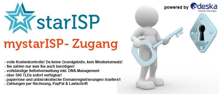 Der StarISP//Resellerzugang