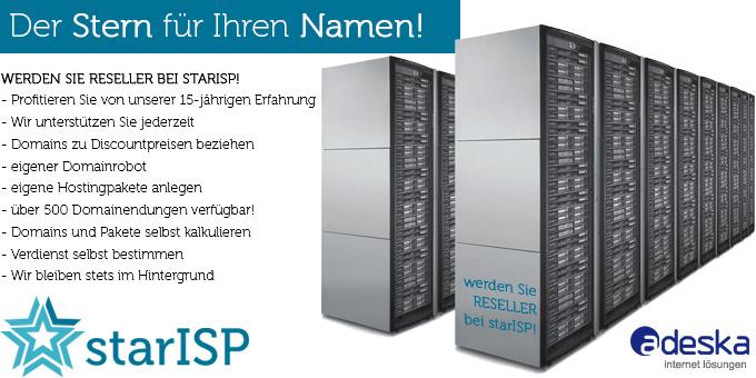 StarISP Reseller werden